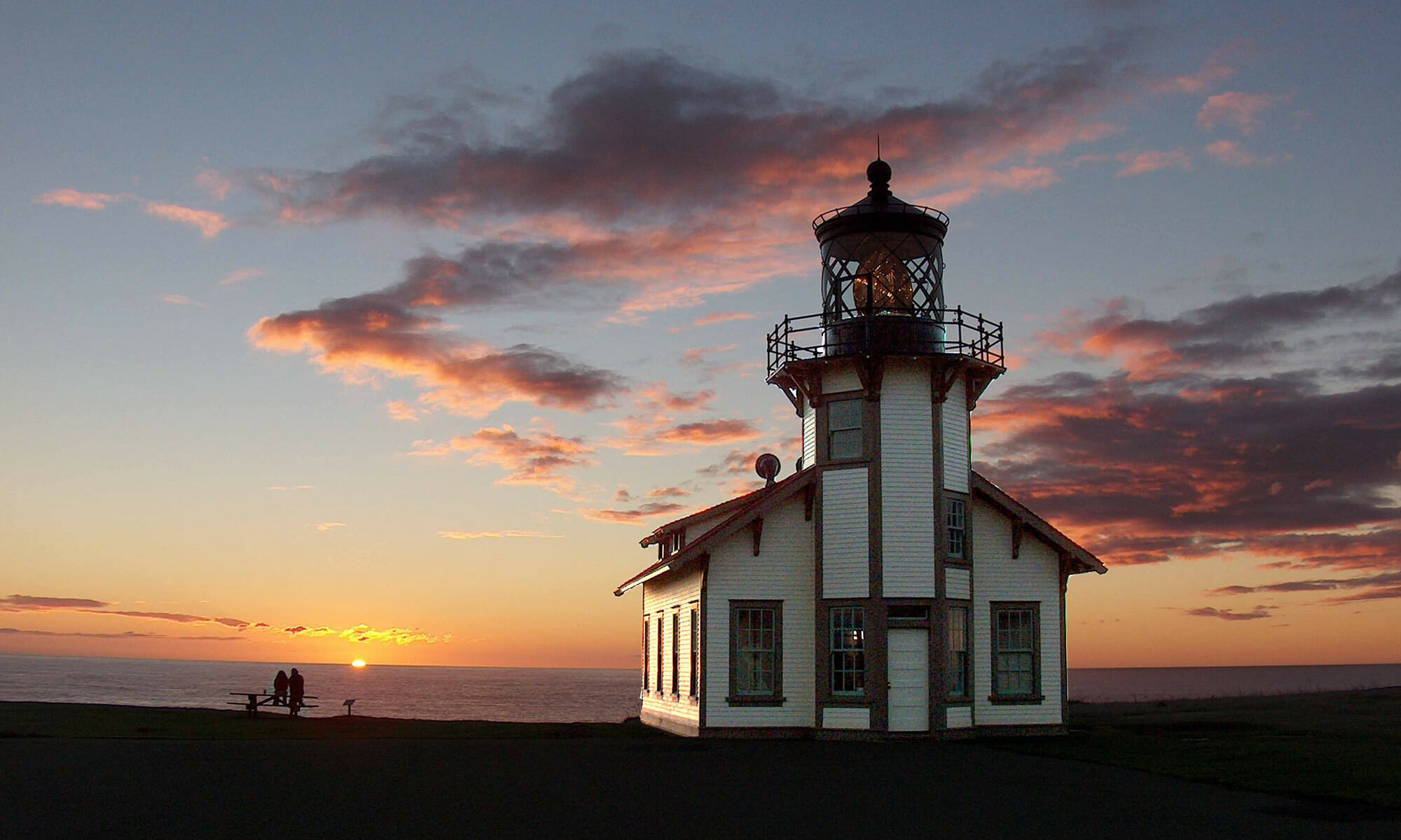 Pt Cabrillo Lighthouse by Bruce Lewis