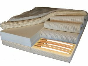 Latex Mattress designed for each sleeper