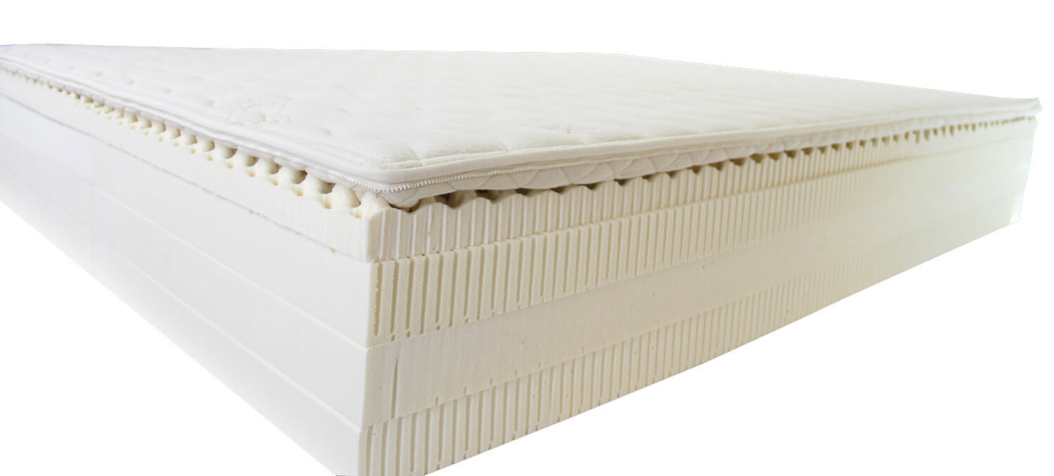Deluxe Latex Mattress Personalized for Each Sleeper