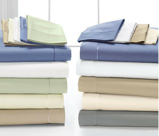 300 and 400 Thread Count DreamFit Sheets 100% Cotton