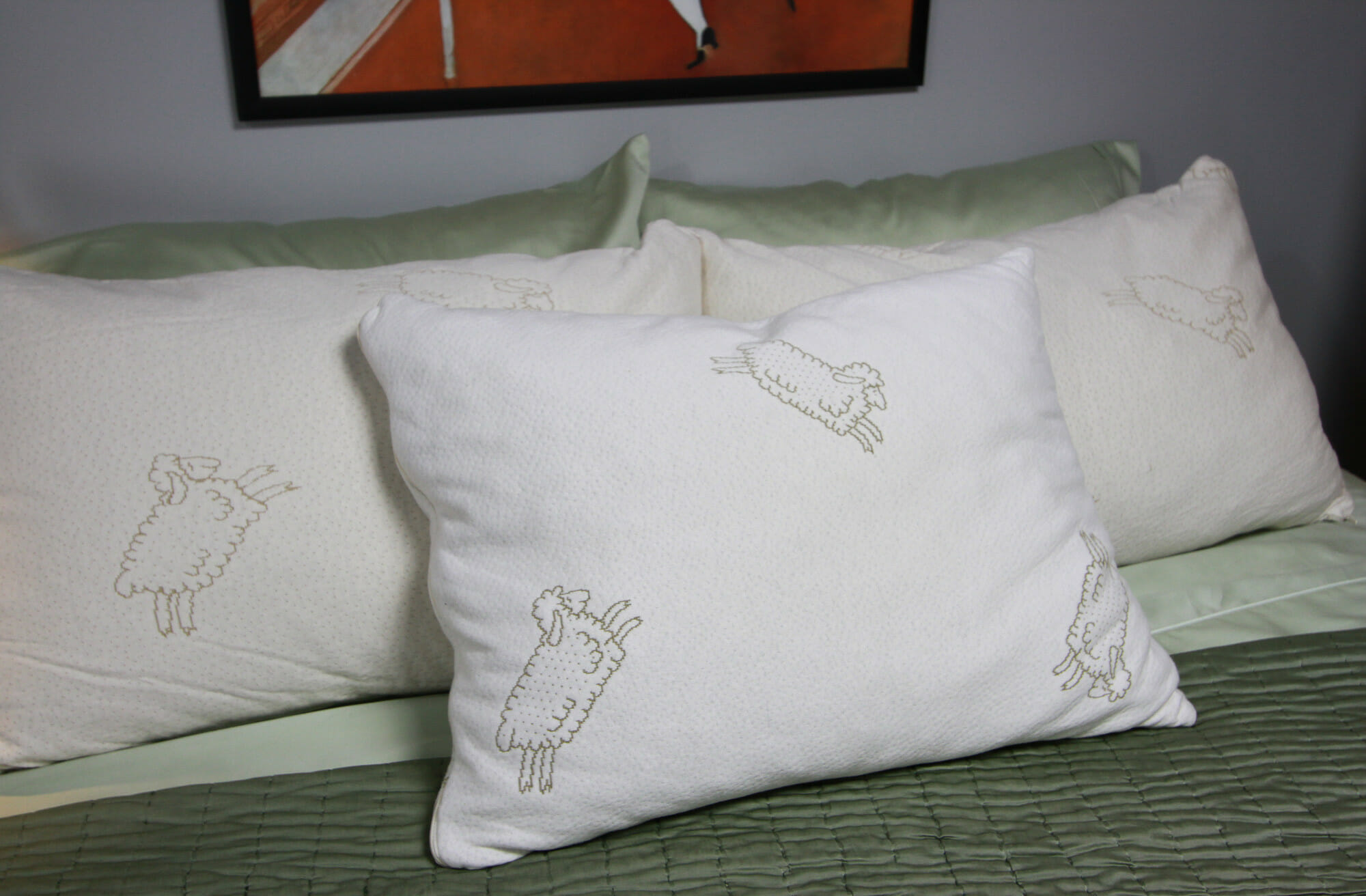 shredded natural Talalay latex pillow