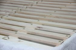 fir slat foundation for strong support