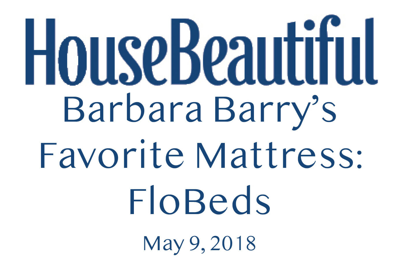 Barbara Barry - House Beautiful