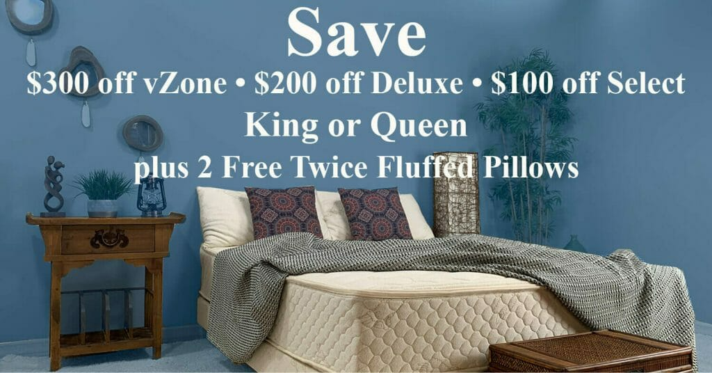 Save $300 on King or Queen vZone